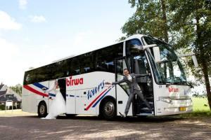 Touringcar huren Birwa Tours Damwald - Bruiloft