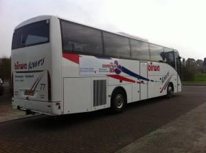 Touringcar huren Birwa Tours Damwald - Vervoersproject centrale as